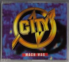CITY - MACH WAS (2 VERSIONEN) / K&P MUSIC 1997 - SEHR GUTER GESAMTZUSTAND !!!