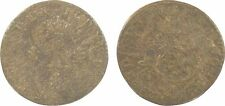 Louis XV, sol ou sou, 1740 Lyon, billon, RARE - 46