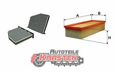 Set S: Innenraumfilter+Luftfilter Inspektionsset AUDI SEAT SKODA VW