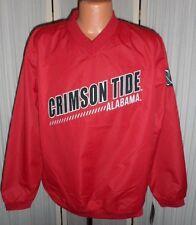 Alabama Crimson Tide Alum Windshell Pull-Over Franchise Jacket Medium Free Ship