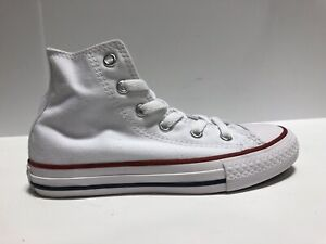 Converse Hi Top White Sneaker Kids Size 13 M Youth