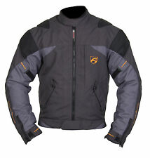 AKITO Edge Motorbike Motorcycle Waterproof Jacket Anthracite/gunmetal/black M
