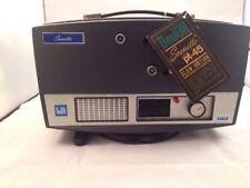 Vintage 8mm DeJur Scenette Pt-45 Movie Projector Slow Motion Mint w/Tag & Bulb!