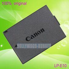 Genuine Original Canon LP-E10 LPE10 Battery for Canon EOS 1100D Rebel T3 LC-E10E