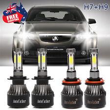 LED Headlight Bulb Kit H7 + H9 H11 H8 Bulbs Combo Lamp for Holden VE Commodore