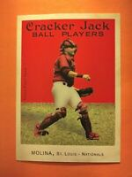 2004 Topps Cracker Jack Yadier Molina ROOKIE  #204  MINT+