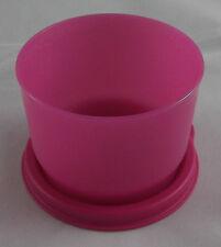 Tupperware D 68 Kunterbunt Dose Behälter Box + Deckel 120 ml Dunkelpink Pink Neu