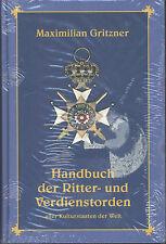 M. Gritzner - Handbuch der Ritter- und Verdienstorden aller Kulturstaaten
