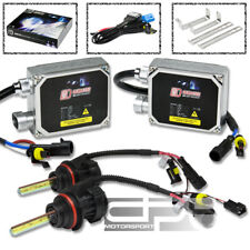 3000K YELLOW HID XENON CONVERSION KIT+9007 BULB HIGH+LOW BEAM/LAMP+THICK BALLAST