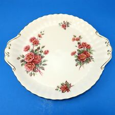 Royal Albert Centennial Rose Cake Plate 10 1/4""