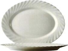 6 oder 12 oder 24 ovale Platten 35 cm   LUMINARC TRIANON  Arcopal