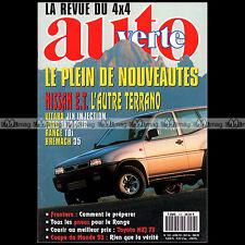 AUTO VERTE N°143 VITARA JLX, FORD EXPLORER, BREMACH TREKKING, TOYOTA HZJ 73 1993