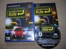 DOWNTOWN RUN - Rare Sony PS2 Game
