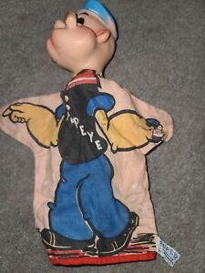 1960 POPEYE HAND PUPPET GOOD SHAPE GUND FULLY LICENSED TAGGED