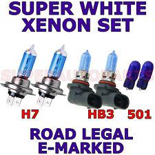 si adatta a VOLVO S60 2006 Set H7 HB3 501 Super Bianco Xenon lampadine