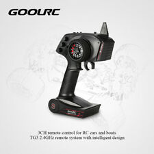 NEW GoolRC TG3 2.4GHz 3CH Digital Radio RC Transmitter w/Receiver for RC Car USA