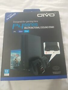 OIVO PS4/ Slim/Pro Cooling Station, Vertical Cooling Stand with Upgraded Fan...