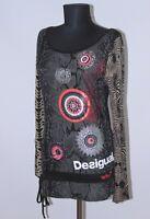 Desigual 47T2529 Moody womens shirt tunic Size M