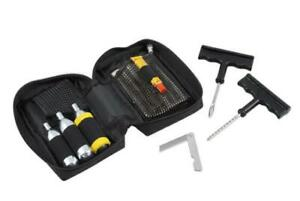 Tyre puncture plug Repair Inflation kit Motorcycle Scooter Quad Apparel