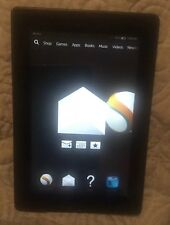 Amazon Kindle Fire Ereader, 8gb Wi-Fi 7in 3rd Gen. NO ACCESSORIES