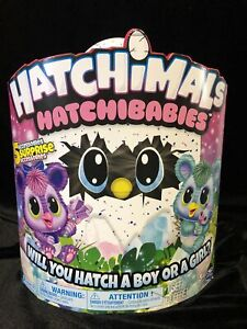 New Hatchimals HatchBabies Kitsee Interactive Toy Surprise Hatch a Boy Or Girl