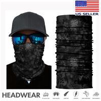 Neck Gaiter Tube Bandana Half Face Cover Shield Headband Balaclava Scarf Snood