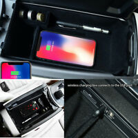 Mobile Phone Wireless Car Charger Storage Integrated  For Mercedes Benz C-Class