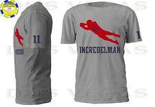 New England Patriots Julian Edelman Jersey Tee Shirt Men Size S-5XL Incredelman