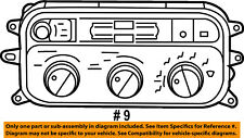 Dodge CHRYSLER OEM-Climate Control Unit Temperature Fan Heater A/C 55056249AE
