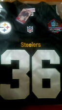 Pittsburgh Steelers Throwback #36 Jerome Bettis w/HOF Patch stitched Jersey Men