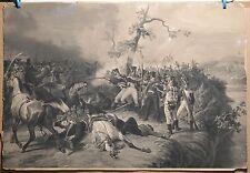 Napoleonic Wars LES ENFANTS DE PARIS DEVANT WITEPSK 1812 Russia H.Vernet LARGE
