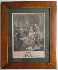 La Pupille / das Mündel, Kupferstich um 1800