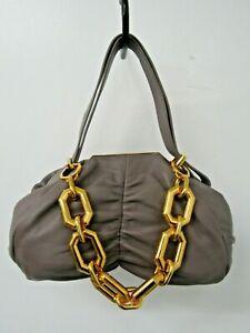 """Louise Et Cie """"Lo - Elis - CL"""" Leather Clutch Handbag in Peppercorn Color"""
