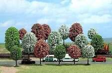 Bäume von Busch TT, N (6584): 18 Frühlingsbäume, 40-70 mm