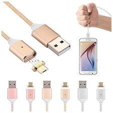 AGM Adattatore Micro USB Magnetico Caricabatterie Cavo Di Ricarica Per Samsung LG Android