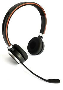 Jabra Evolve 65 Wireless BT Professional Headset Stereo Binaural 6599-829-409