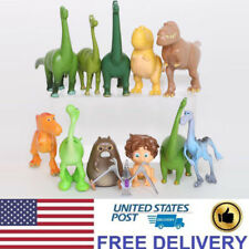 The Good Dinosaur 12 PCS Action Figures Toys Kids Gifts Arlo Spot Budda Ramsey