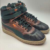 [365930-01] Mens Puma Sky II Hi Duck Winter Boot Sneaker Brown Black NWOT