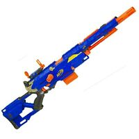 Nerf N-Strike Long Strike Longstrike CS-6 Sniper Rifle Blaster Gun With Clip