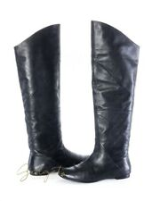 Belle Sigerson Morrison Size 9.5 Black Leather Over-the-Knee Boots