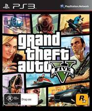 Grand Theft Auto GTA V (Five 5) Game PS3 Sony PlayStation 3 PS3 Brand New