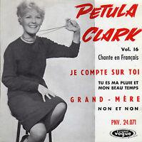 PETULA CLARK EN FRANCAIS JE COMPTE SUR TOI FRENCH ORIG EP HUBERT DEGEX