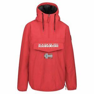Napapijri Herren Jacke Shade S M L XL XXL 3XL Blau Schwarz Weiß Rot Kapuze