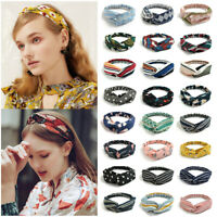 Fashion Women Headbands Turban Twist Knot Head Wrap Twisted Knotted Hair Bands
