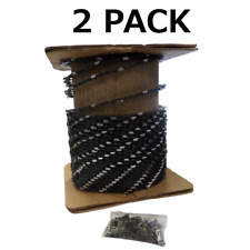 2 x 100FT Roll 3/8LP .050 Chain Saw Chain for 91VXL25U 91VG25U N1C-25R 91PX25U