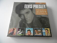 *NEW* ELVIS PRESLEY ORIGINAL ALBUM CLASSICS 5 CD BOX SET IS BACK G.I. BLUES