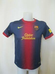 Boys Barcelona 2012/2013 home Size XL Nike shirt jersey maillot soccer Barca FCB