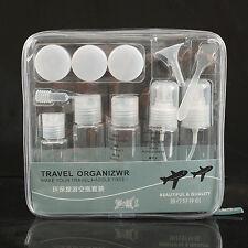 12 Sets Travel organizer Bottles Empty Plastic Atomiser Refillable Perfume Spray