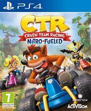 Videogioco PS4 Crash Team Racing Nitro Fueled Nuovo Sony Playstation 4 CTR