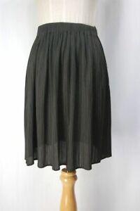 ISSEY MIYAKE Brown Pleats Skirt 156 2578